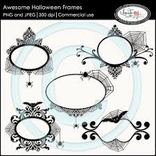 halloween digital frames halloween clip art frames halloween