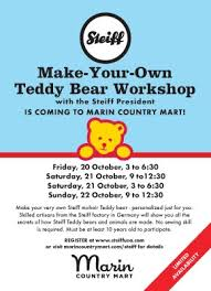 make your own teddy make your own teddy workshop marin mommies