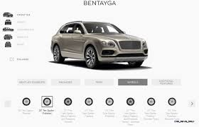 customized bentley bentayga 2017 bentley bentayga colors