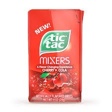 tic tac tic tac mixers cherry to cola 1oz 29g american fizz