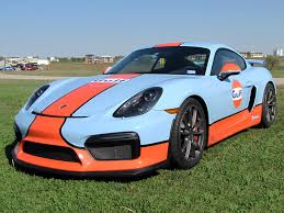 porsche cayman orange 2016 blue orange gulf porsche cayman gt4 maverick pca club race