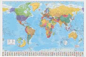 World Map Poster India by Picture Of Diagram World Map Poster Large India Throughout