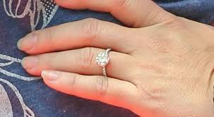 baby engagement rings images Celebrity engagement rings glamour jpg