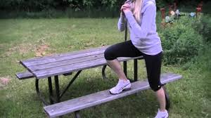 Outside Bench Outdoor Picnic Bench Workout 10 Exercises Youtube