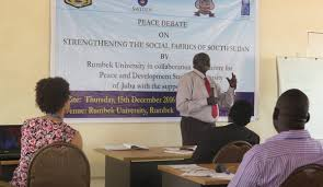 Radio Miraya Juba News University Of Rumbek Organizes A Debate On Strengthening Social