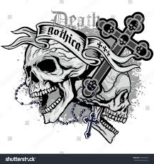 gothic coat arms skull grungevintage design stock vector 505799341 gothic coat of arms with skull grunge vintage design t shirts
