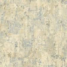 the wallpaper company blue and beige abstract faux texture