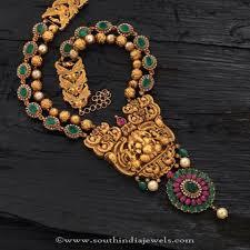 antique emerald necklace images Gold antique emerald temple necklace necklace collections jpg