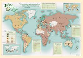 Peters Projection Map Promotional Wall Maps Oxford Cartographers