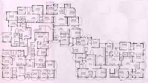 housing blueprints floor plans mansion blueprints floor plan of apoorva mansion house inovations