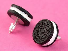 food earrings 17 simple and adorable food earrings oreos food and jewlery