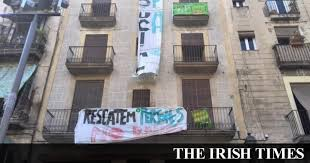 bureau de change lyon sans commission post boom barcelona squatters occupy vanguard of spain s resistance