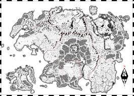 Elder Scrolls World Map by Roleplaying In The World Of The Elder Scrolls Series Stargazer U0027s