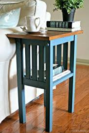 Plans To Build End Tables by Making This Super Cute Little End Table This Website Has Tons Of