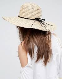 braid band asos asos straw floppy hat braid band with size adjuster