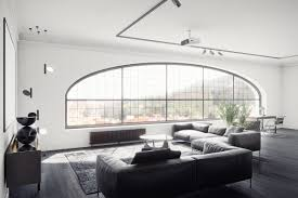 Black And White Modern Living Room Furniture by 30 Black U0026 White Living Rooms That Work Their Monochrome Magic