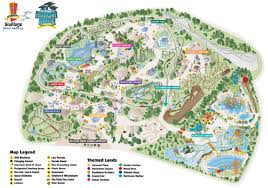 Six Flags Illinois Park Map Six Flags Great America Great America Park Map Park