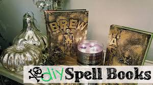 halloween photo book diy halloween spell books youtube