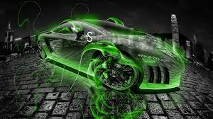 Lamborghini Gallardo Green - lamborghini gallardo fire crystal car 2013 el tony