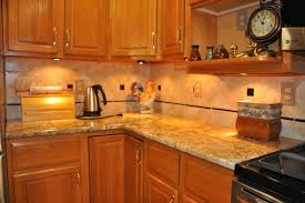 Baltic Brown Granite Countertops With Light Tan Backsplash by Granite Countertop Backsplash Baltic Brown Granite Countertops