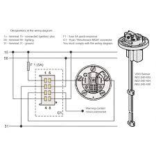 vdo fresh water sensor 4 20 ma u2013 600 1200mm vdo webshop