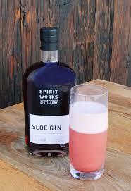 spirit works distillery sloe gin fizz chilled magazine
