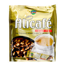Kopi Tongkat Ali Ginseng Coffee power root alicafe 5 in 1 coffee premix with tongkat ali ginseng