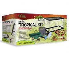 pet products zilla tropical vertical terrarium kit 12x12x8
