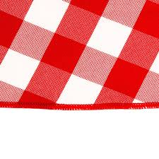 90 in tablecloth white checkered for weddings events