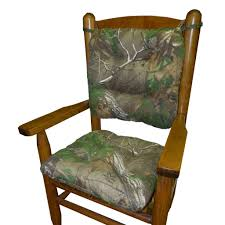 child rocking chair cushions realtree xtra green r camo made