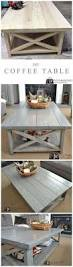 diy crate coffee table on wheels pallet wood crates and pallets