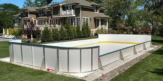 Making Backyard Ice Rink Learn More About Synthetic Ice D1 Backyard Rinks
