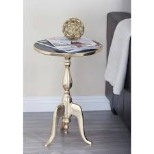 Marble Accent Table Multi Colored Accent Tables Living Room Furniture The Home Depot
