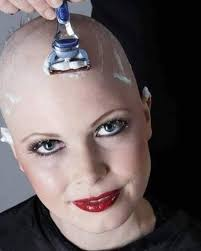 bald women haircuts 507 best bald women covered in shaving cream 1 images on pinterest