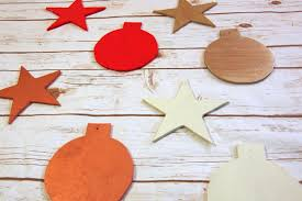 handmade wooden ornament create and babble