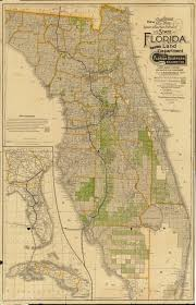 Map Of Volusia County Florida Memory Sectional Map Of Florida 1888 East And