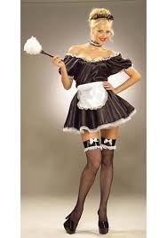 French Maid Halloween Costumes Fifi French Maid Costume 20 99 Costume Land
