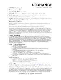 How To Send A Resume Freelance Photographer Resume Resume For Your Job Application