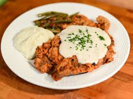how to make the most beefy tender and crispy chicken fried steak