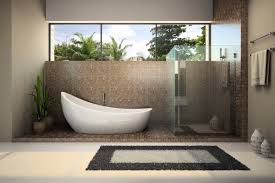 Japanese Interior Design For Small Spaces Japanese Bathroom Design Small Space Head Shower On Ceramic Tile