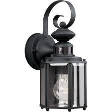 best exterior motion sensor lights progress lighting p5662 31 1 light wall lantern with motion sensor
