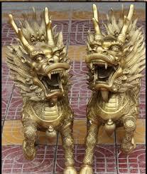 qilin statue free 26 fengshui folk bronze kylin chi qilin