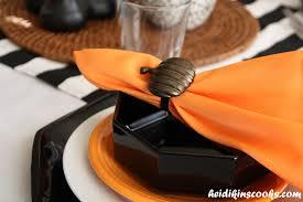 halloween tableware setting a fun and festive halloween table heidikins cooks