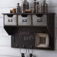 Metal And Wood Cabinet Black Beauty Antique Farmhouse
