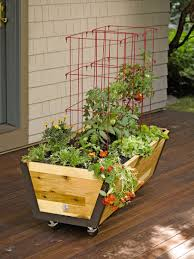 Where To Buy Large Planters by Rolling Planter Box U Garden Bed On Wheels Gardeners Com