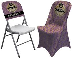 Chair Back Cover Convention Chairs American Image Displays
