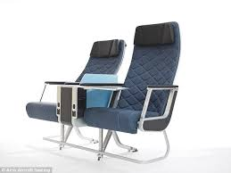 Sleeping Armchair Acro Aircraft Seating Designs Offer More Legroom And A Better