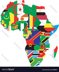 World Map Of Africa by Map Of Africa Royalty Free Vector Image Vectorstock