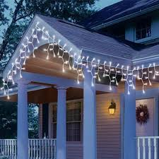 icicle lights led 210 lite lock concave cool white