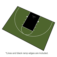 backyard sport court cost with basketball surfaces photo